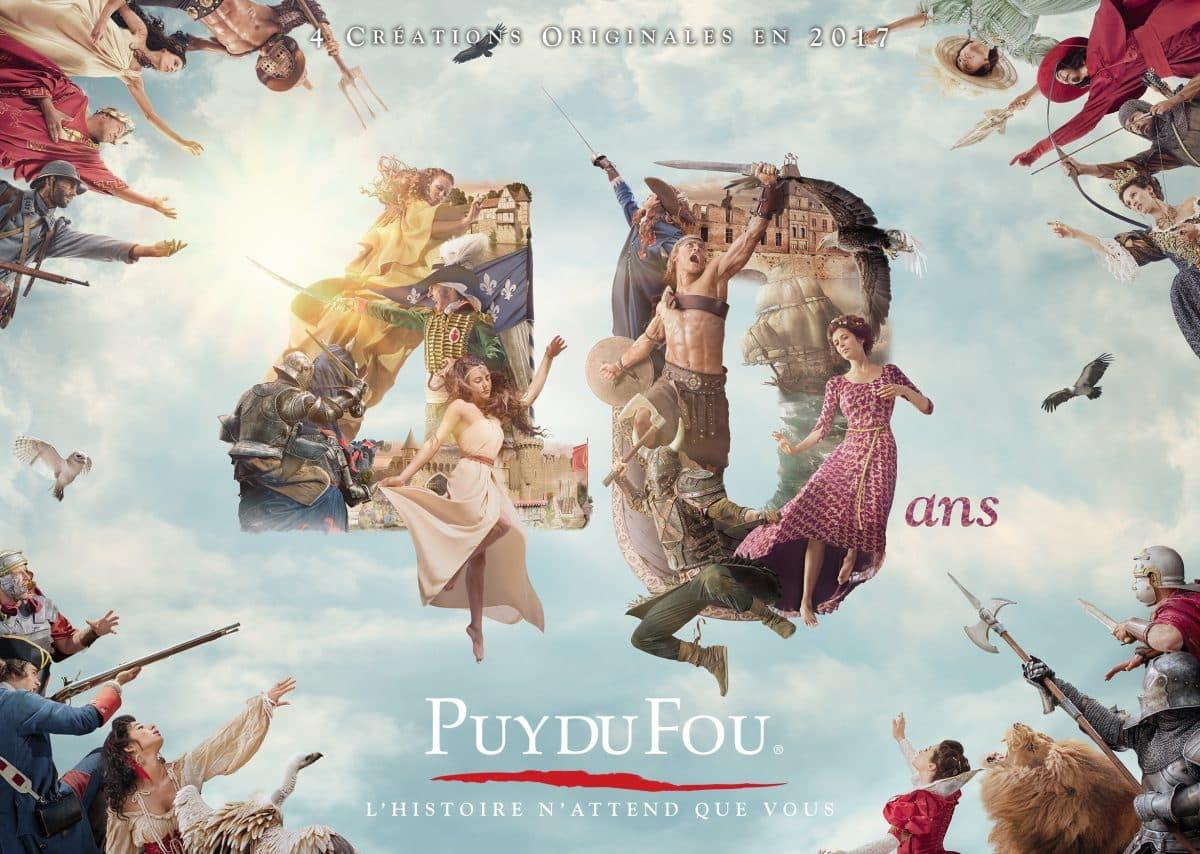 Grand Parc et Cinescenie au Puy du Fou