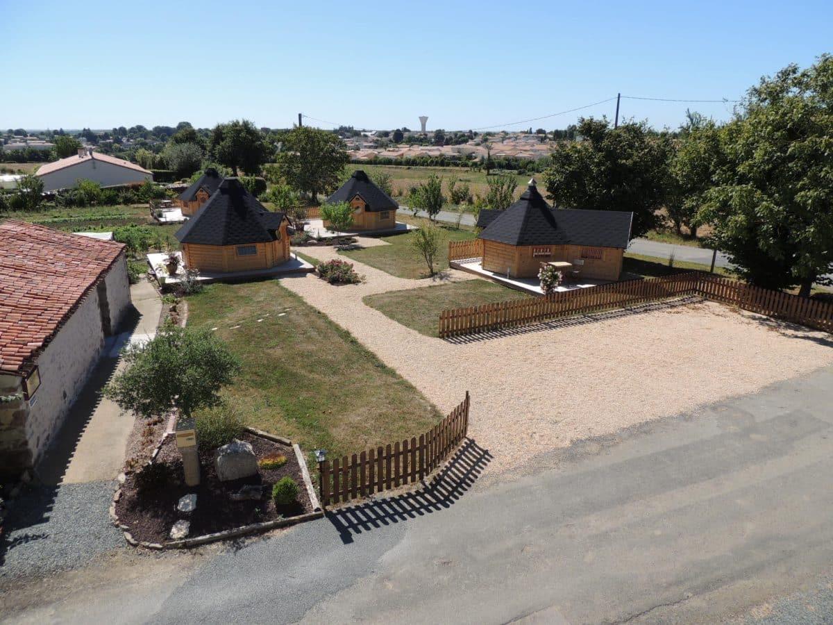 Village de kotas hébergements insolites en Vendée