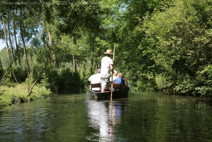 Balade en barque sur la Venise Verte