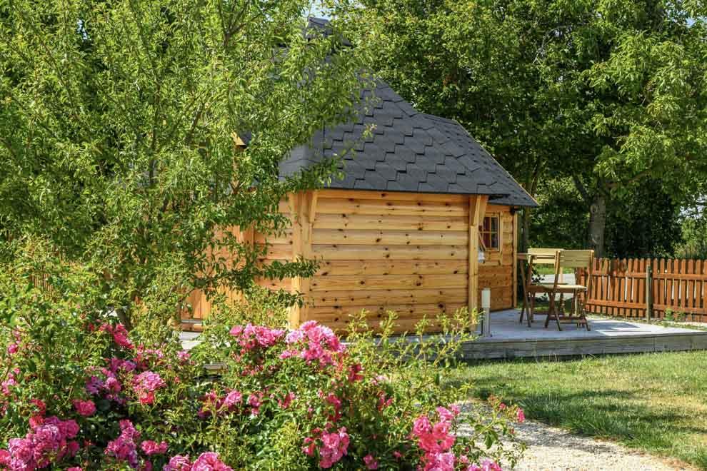 Petit village de kotas hébergements insolites en Vendée