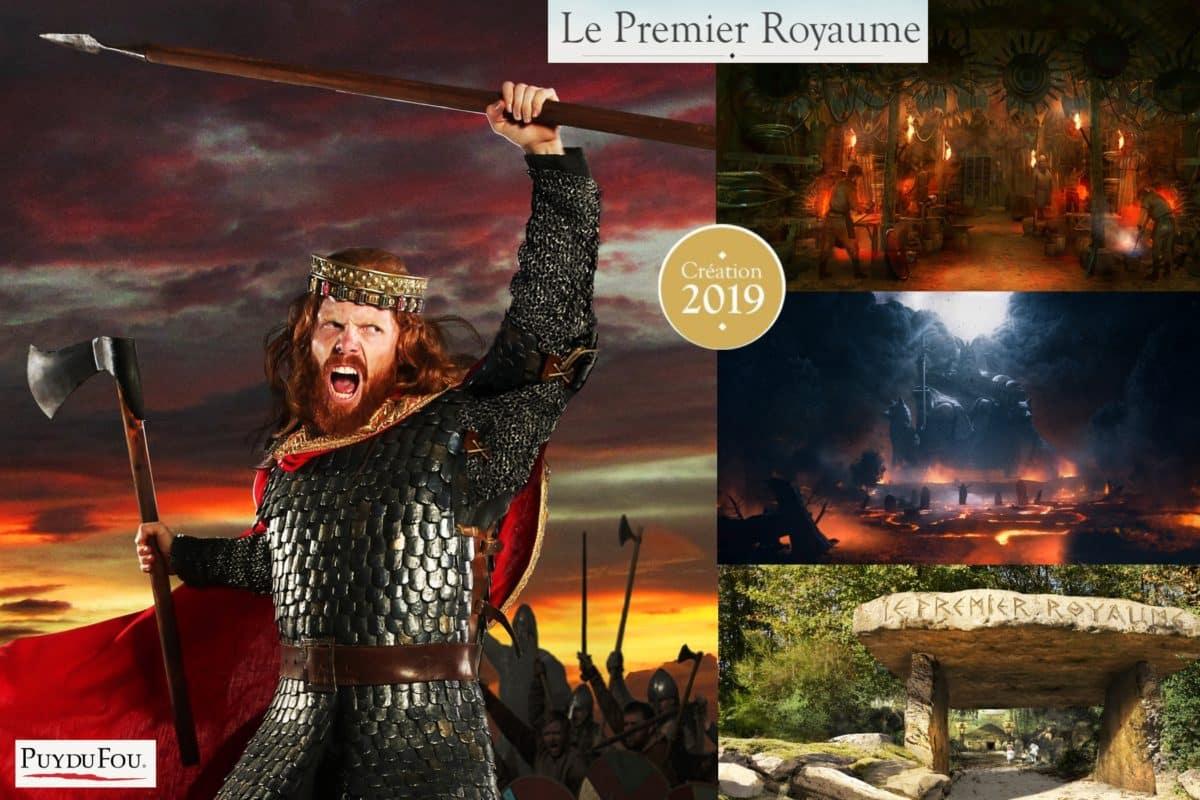 Le Premier Royaume spectacle Puy du fou 2019