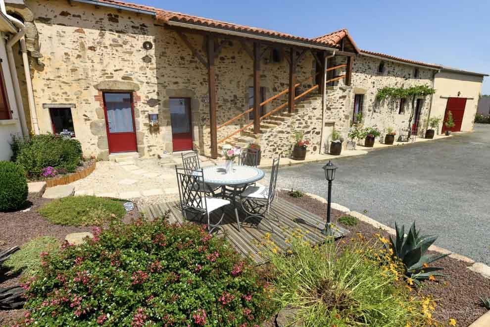 Chambres d'hôtes 6 personnes proches du Puy du Fou
