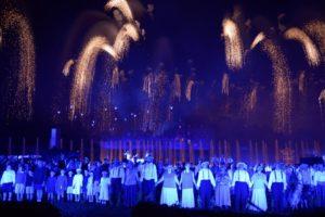 Spectacle sons et lumières La Cinéscenie du Puy du Fou